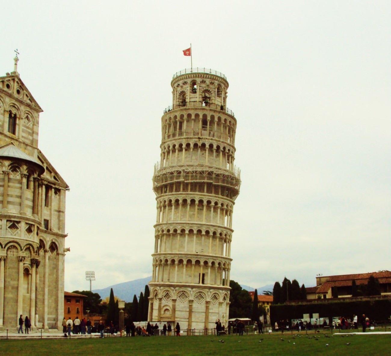 Turnul din Pisa stimulare electrică pentru penis