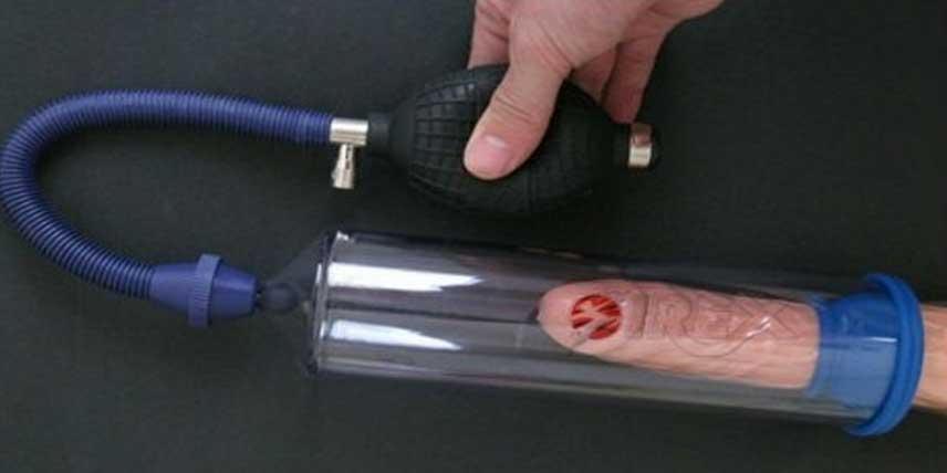 pompa de vid pentru penis înainte și după
