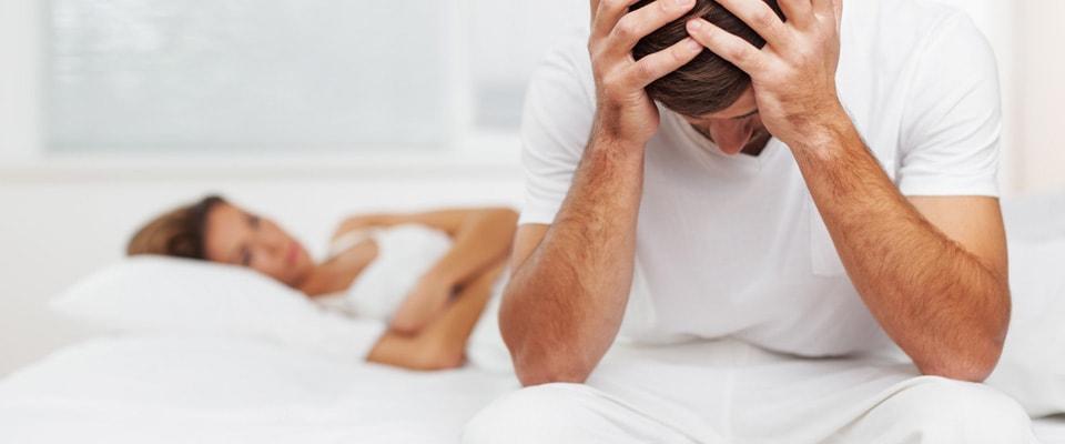oboseală și erecție