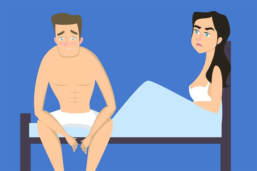 scăderea dorinței și a erecției