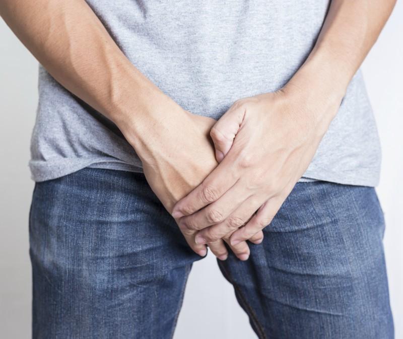 capătul penisului este moale