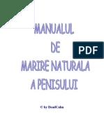 Manual complet pentru marirea penisului