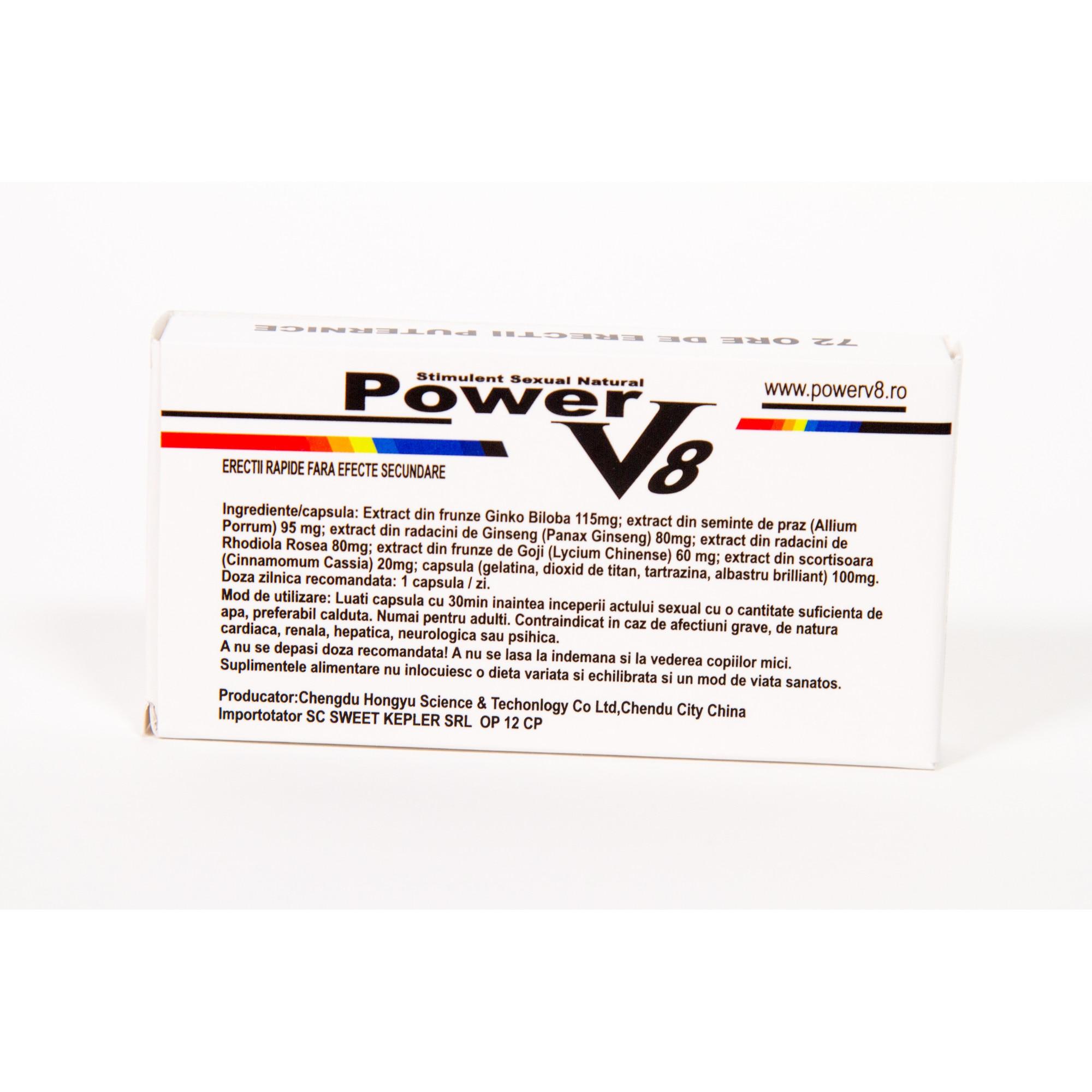 MACA - 60 pastile potenta, erectie, ejaculare precoce, prematura, impotenta