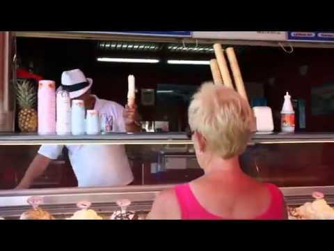Baba și penisul din înghețată